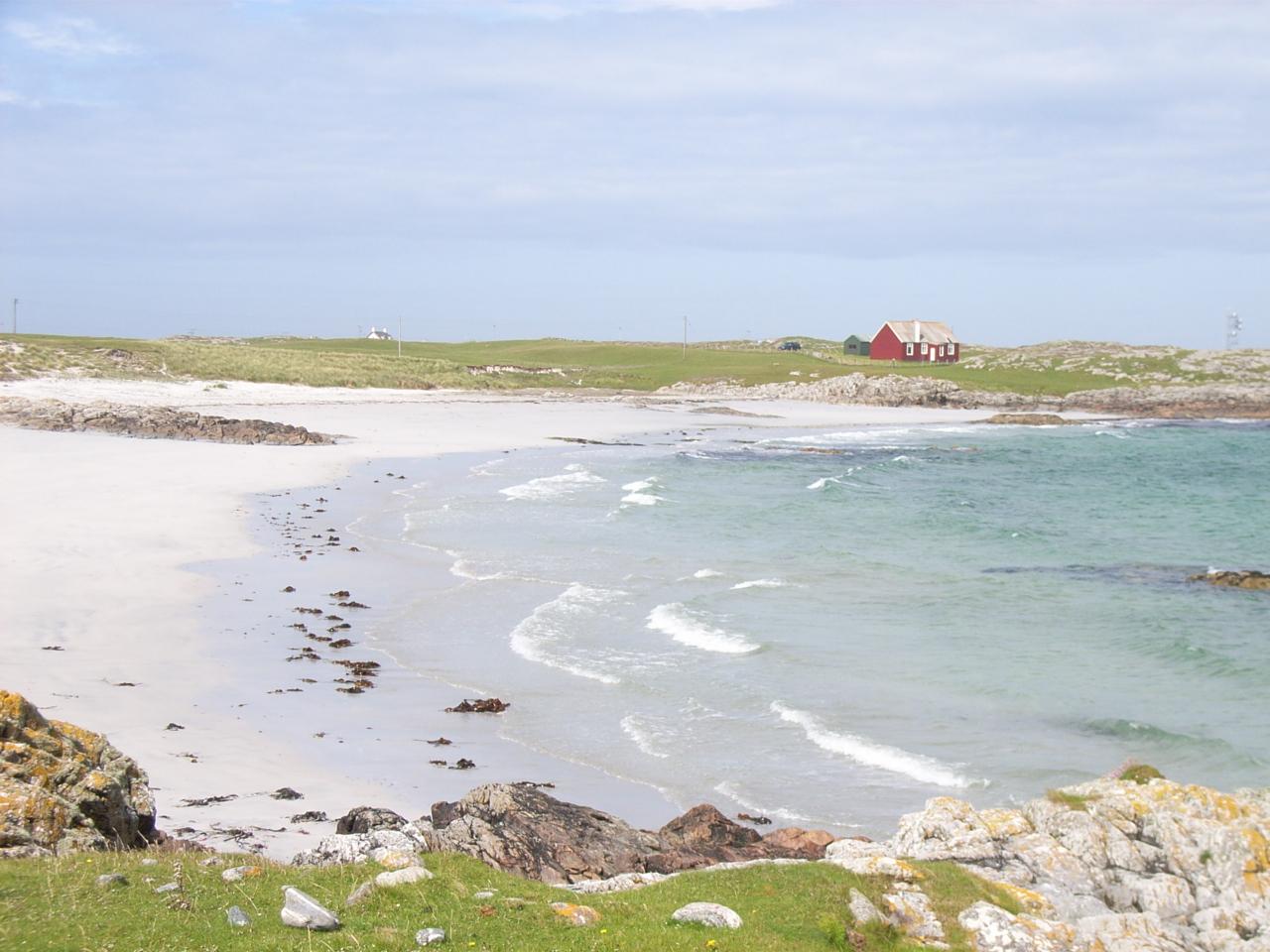 Heanish beach cottage isle of tiree